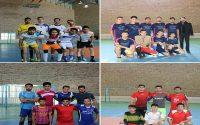 مسابقات ورزشی فوتسال، به مناسبت گرامیداشت روز دانشجو