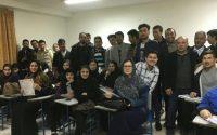 ✅آخرین جلسه از نخستین دوره برگزاری درس «آشنایی با زبان تر کمنی » در پردیس دانشگاهی شمس ?