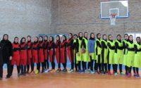 """? برگزاری مسابقات بسکتبال بانوان بصورت چهار جانبه و به مناسبت گرامیداشت دهه فجر در """"پردیس دانشگاهی شمس گنبد"""" ?"""