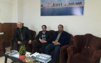 دیدار صمیمی آقای توسلی رئیس هیأت سوارکاری گنبد کاووس با پروفسور رجبی ریاست موسسه آموزش عالی شمس گنبد کاووس