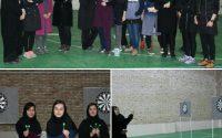 🎯  برگزاری مسابقه دارت ویژه بانوان در محل سالن ورزشی نشاط دانشگاه شمس