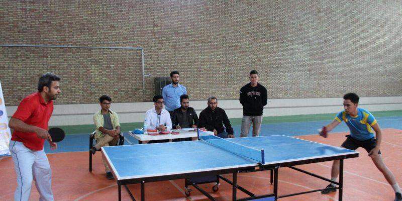 🏓 برگزاری مسابقات تنیس روی میز
