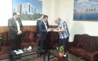 بازدید ریاست اداره ورزش و جوانان شهرستان گنبد کاووس از موسسه آموزش عالی شمس