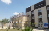 پیشرفت اجرای  پروژه  سالن ورزشی چند منظوره پردیس دانشگاهی شمس