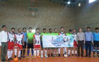افتتاحیه مسابقات فوتسال به مناسبت گرامیداشت هفته ی دولت
