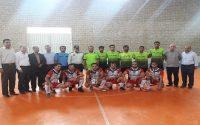 برگزاری فینال مسابقات هشت جانبه فوتسال به مناسبت هفته دولت