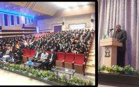 برگزاری همایش و سخنرانی جناب پرفسور رجبی به مناسبت هفته تربیت بدنی همزمان با بازدید دانش آموزان هنرستان