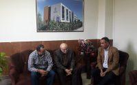 دیدار نماینده شهرک های صنعتی شرق استان گلستان با ریاست محترم پردیس دانشگاهی شمس