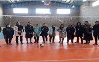 🏐برگزاری مسابقات چهارجانبه والیبال ویژه بانوان