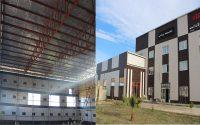  پیشرفت مراحل ساخت سالن بدن سازی موسسه آموزش عالی شمس