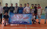 برگزاری مسابقات فوتسال دانشجویی به مناسبت گرامیداشت دهه فجر (بهمن ۱۳۹۷)