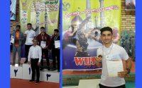 دانشجوی دانشگاه شمس، قهرمان مسابقات ووشو قهرمانی دانشجویان کشور شد.