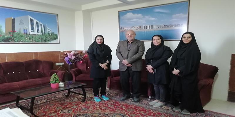 دیدار جناب پروفسور رجبی با جمعی از دانشجویان رشته تربیت بدنی