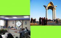 دیدار خبرنگاران با مسئولین موسسه آموزش عالی شمس در سومین همایش علمی اشعار و اندیشه های مختومقلی فراغی