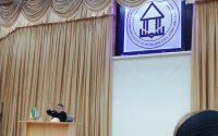 سخنرانی دکتر انوشه در یکی از بهترین مکان های استان، موسسه آموزش عالی شمس گنبد کاووس