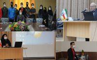 جلسه معارفه دانشجویان گروه روان شناسی و علوم تربیتی و آشنایی با فضای دانشگاه