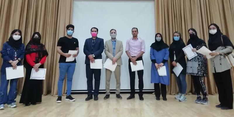 همایش هماندیشی و تجلیل از دانشجویان ممتاز گروههای علوم ورزشی و حقوق